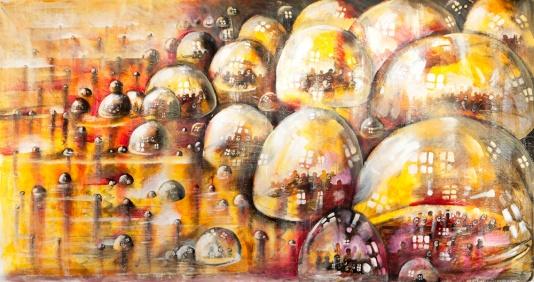 Birth, 2008, oil on canvas