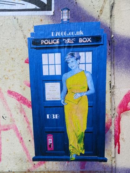 Street Art by D7606 and D3B, Shoreditch - February 2013