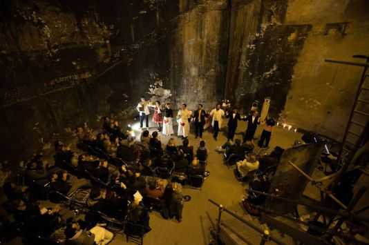 L'elisir d'amore in the Brunel Museum Thames Tunnel Shaft photos courtesy of Richard Lakos 3