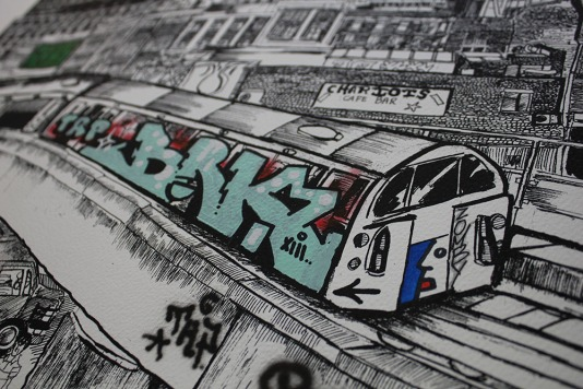 Noir, Zomby, BRK, RUN