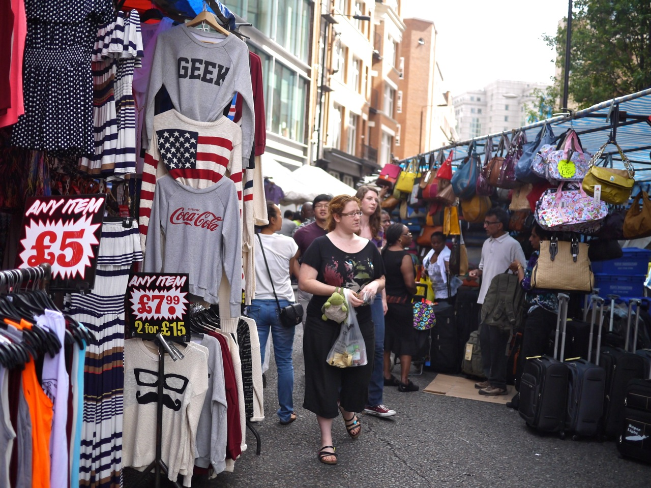 Photographing London S Petticoat Lane Market Little