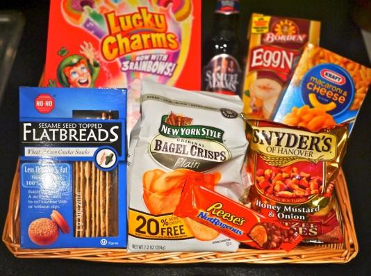American snacks from Ocado